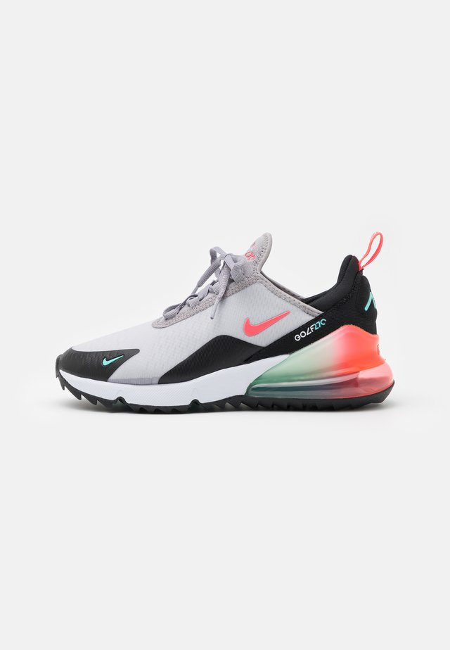 AIR MAX 270 G - Golfskor - atmosphere grey/hot punch/white/black