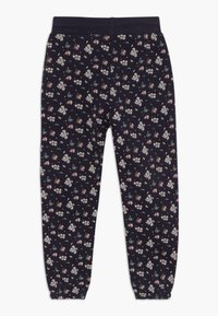 Blue Seven - KIDS FLORAL PRINT - Tracksuit bottoms - dark blue - 1