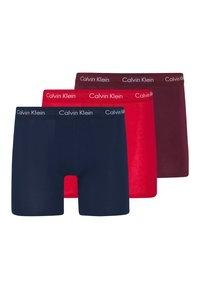 Calvin Klein Underwear - BOXER BRIEF 3 PACK - Panties - red - 0