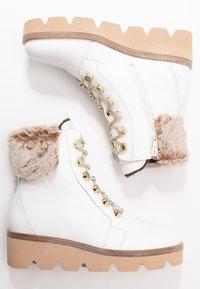 Gabor - Wedge Ankle Boots - weiß/beige - 3