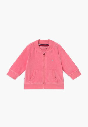 BABY ZIP UP - veste en sweat zippée - pink