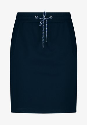 Pencil skirt - indigo