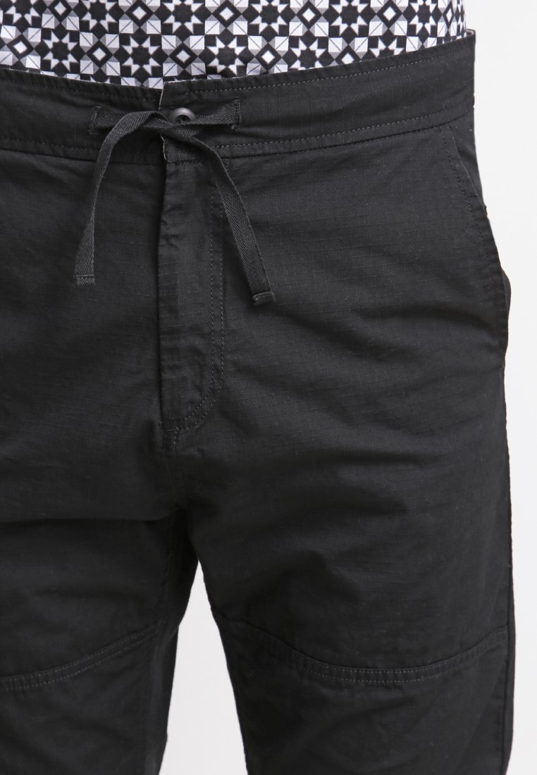 Carhartt WIP MARSHALL COLUMBIA - Pantalon classique - black rinsed