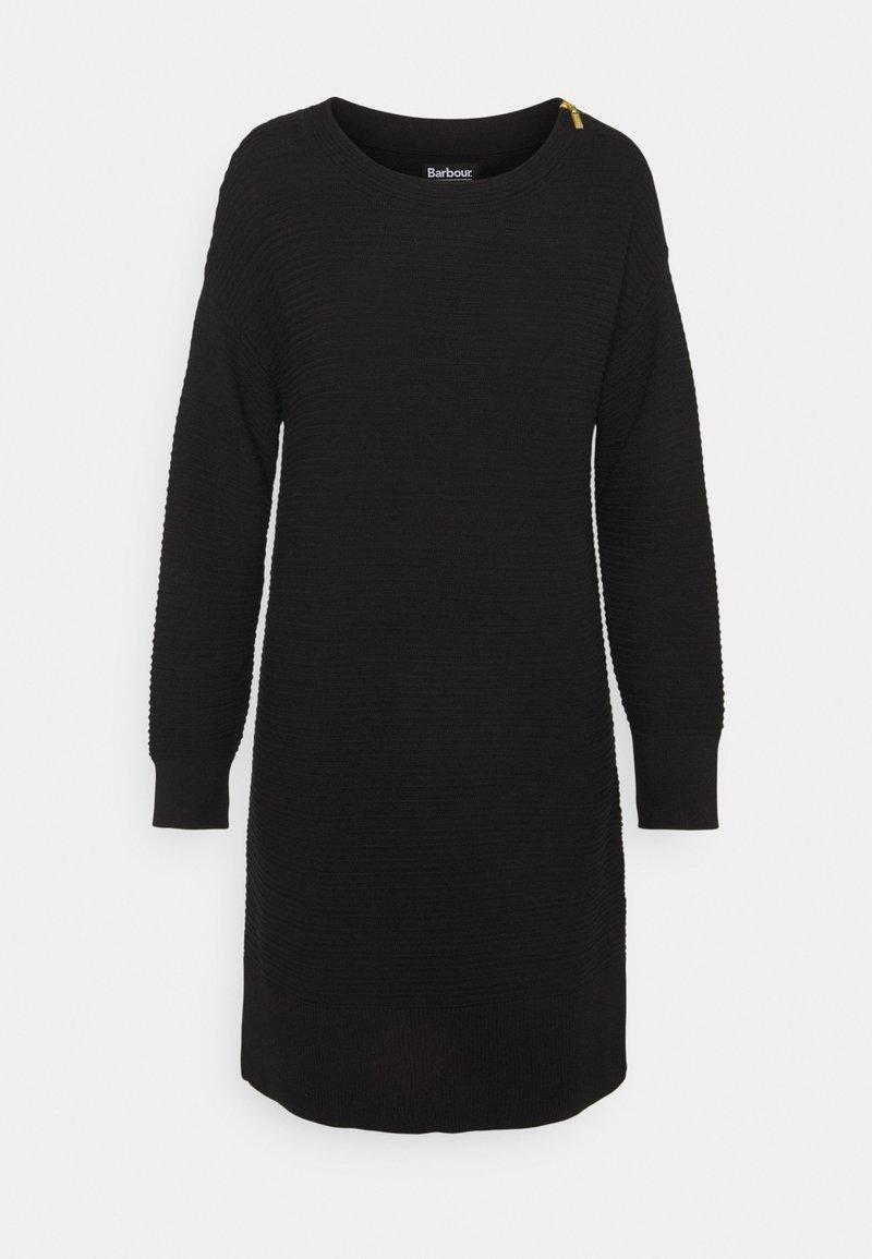 Barbour International - PICTON DRESS - Jumper dress - black