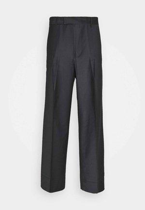 KEN TROUSERS - Oblekové kalhoty - dark grey