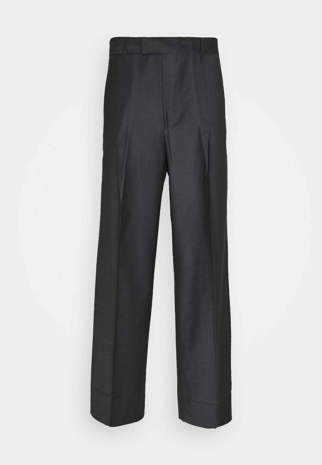 KEN TROUSERS - Puvunhousut - dark grey