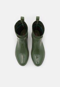 Coach - RIVINGTON RAIN BOOTIE - Wellies - bronze/green - 3