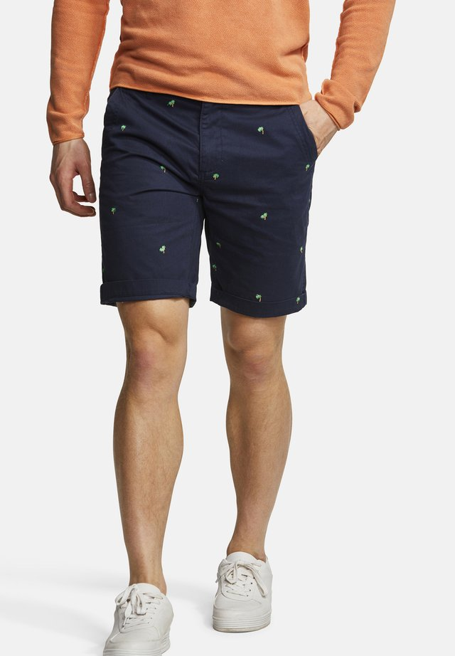 MATS - Shorts - palm emroidery