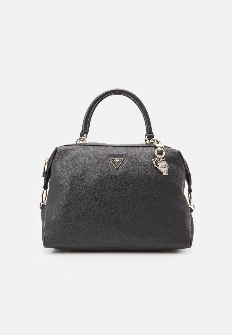 Guess - HANDBAG DESTINY SATCHEL - Handbag - black