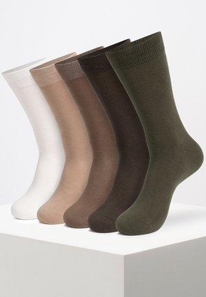 10 PAIRS - Socks - beige
