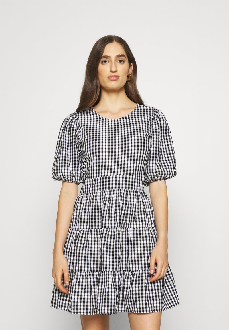 Faithfull the brand - LIZZY MINI DRESS - Day dress - varsha black