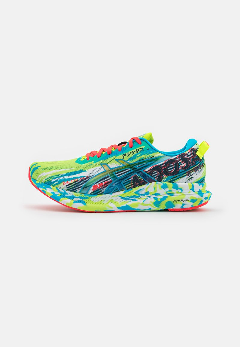 ASICS - NOOSA TRI 13 - Competition running shoes - hazard green/digital aqua