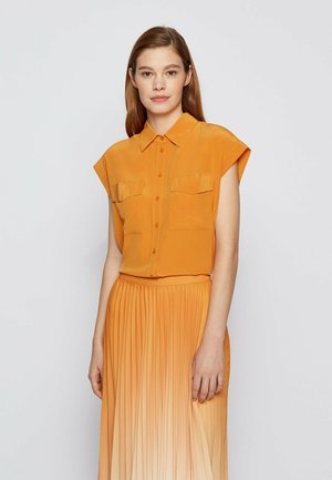 Button-down blouse - open yellow
