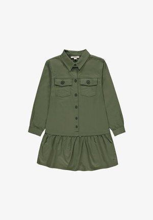 Shirt dress - dark khaki