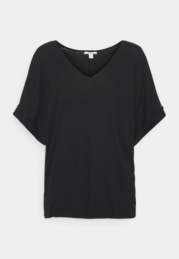 TEE - T-shirt - bas - black