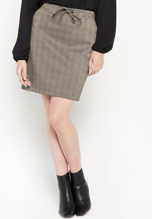 Mini skirt - bronze