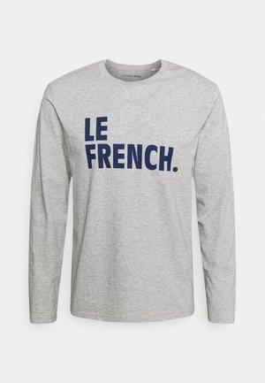 LONGSLEEVE LE FRENCH UNISEX - Long sleeved top - heather grey