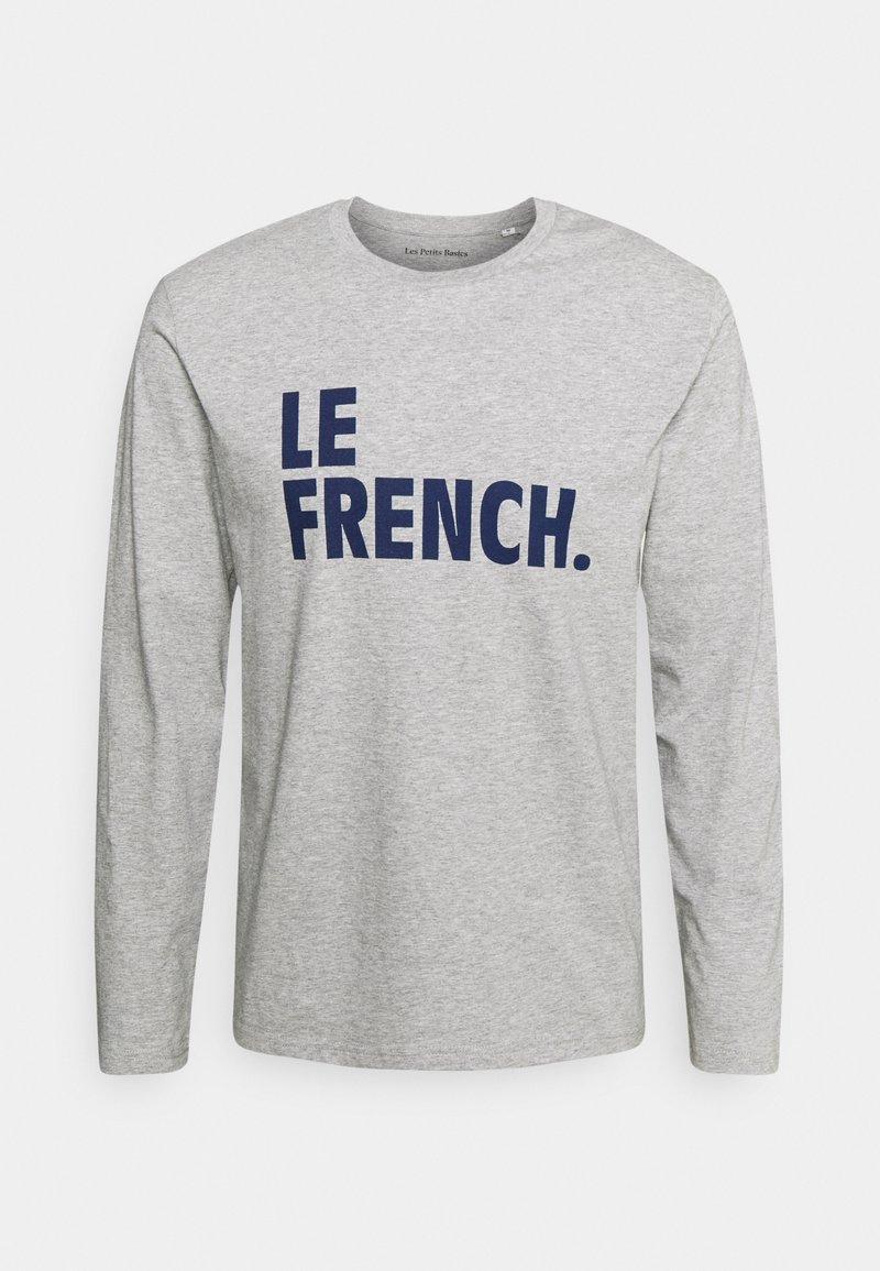 Les Petits Basics - LONGSLEEVE LE FRENCH UNISEX - Long sleeved top - heather grey