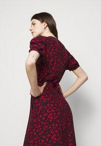 Faithfull the brand - SUMAIA WRAP MIDI DRESS - Maxi šaty - uma - 5