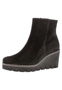 Gabor - Wedge Ankle Boots - schwarz - 1
