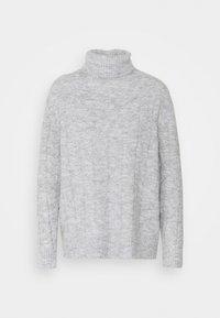 CABLE LONG LINE - Jumper - mottled light grey