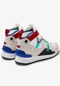 Lacoste - RUN BREAKER - High-top trainers - wht/trqs wht/trqs - 3