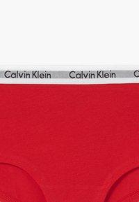Calvin Klein Underwear - SHORTY 2 PACK - Kalhotky - red - 3