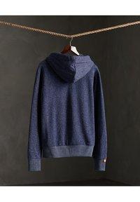 Superdry - CLASSIC  - Zip-up hoodie - atlantic navy birdseye - 1