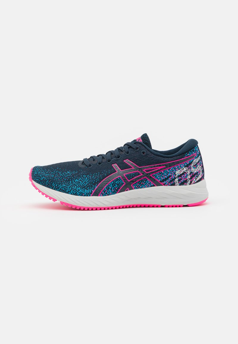 ASICS - GEL DS TRAINER 26 - Neutral running shoes - french blue/hot pink