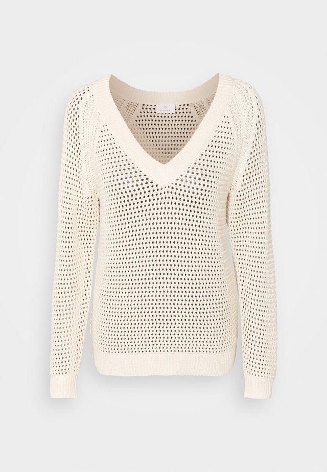 KAJOLAN - Sweter - tapioca