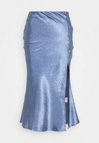 Glamorous - BIAS CUT SKIRT WITH BUTTONS - Pencil skirt - blue - 0
