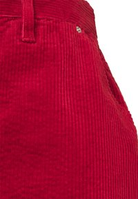 Tommy Jeans - BUTTON SKIRT - Mini skirt - wine red - 2