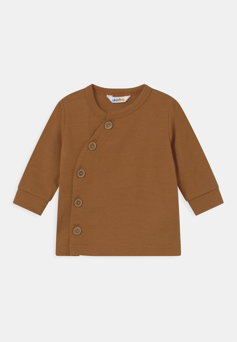 Joha - UNISEX - Cardigan - dark copper