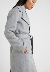 Marella - TIGRE - Wollmantel/klassischer Mantel - melange light grey - 5