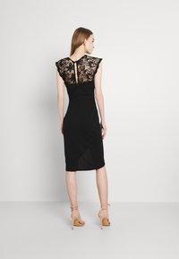 WAL G. - SIENNA MIDI DRESS - Cocktail dress / Party dress - black - 2