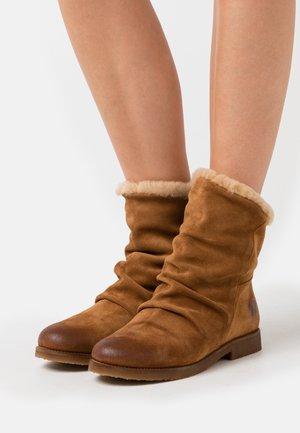 CREPONA - Classic ankle boots - nirvan nicottine