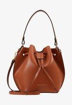 FENICE BUCKET BAG - Handbag - tan