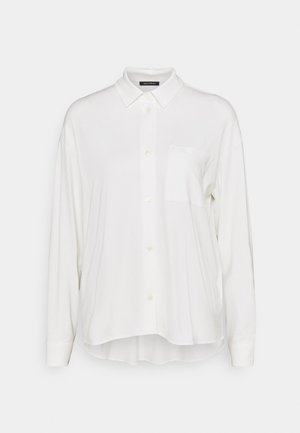 LONG SLEEVE WIDE - Košile - paper white