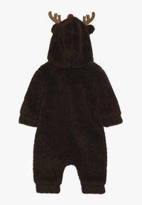 Name it - NBNMUDOLPH TEDDY SUIT - Jumpsuit - bronze brown - 1