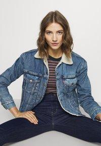 Levi's® - 720 HIRISE SUPER SKINNY - Jeans Skinny Fit - deep serenity - 5