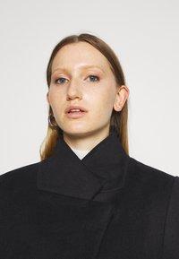 Bruuns Bazaar - JASMINA PERLE COAT - Klasický kabát - black - 4