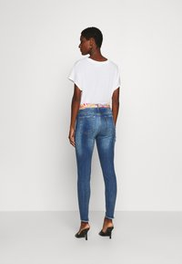 Desigual - RAINBOW - Jeansy Skinny Fit - denim dark - 2