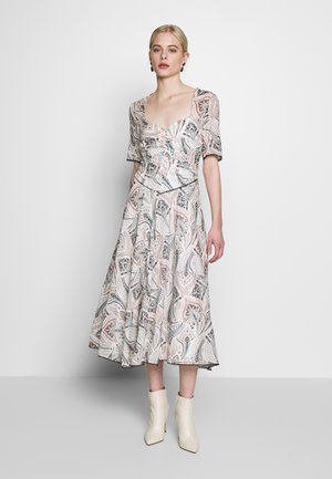 SAFFRON MIDI DRESS - Day dress - off-white