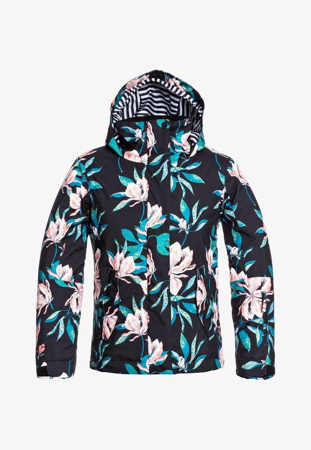 JETTY GIRL  - Snowboard jacket - true black tropical day