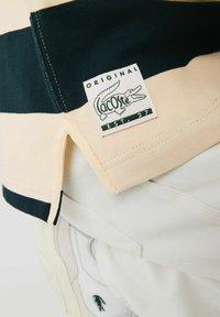 Lacoste - Polo shirt - beige / vert fonce / beige - 5