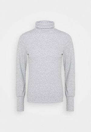 COSY ROLL NECK - Topper langermet - mid grey