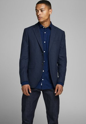 JPRCOLTON SLIM FIT - Blazer jacket - dark navy