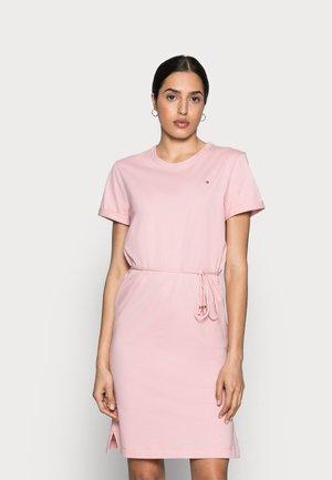 COOL SHORT DRESS - Jersey dress - glacier pink