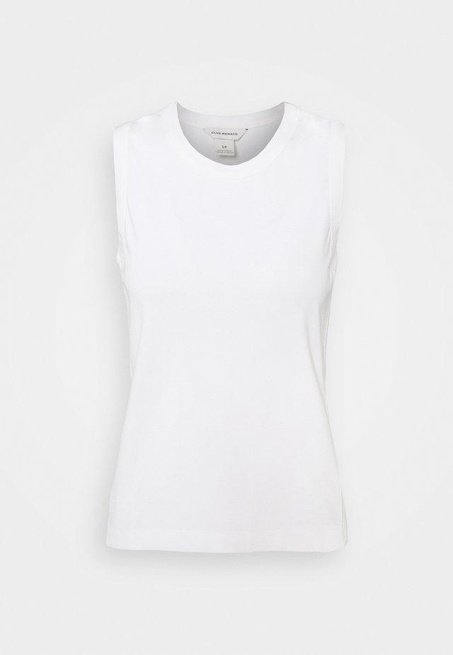 PERFECT TANK - Toppe - white