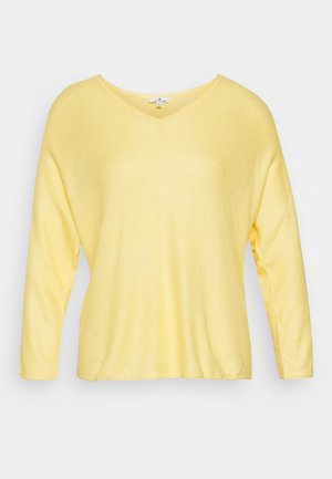 BATWING CHEVRON - Jumper - honey popcorn
